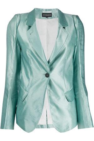 ANN DEMEULEMEESTER Fitted buttoned blazer