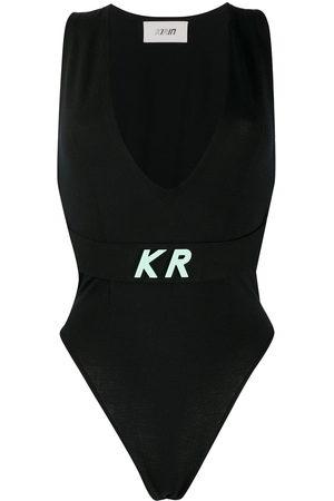 Kirin Logo plaque bodysuit