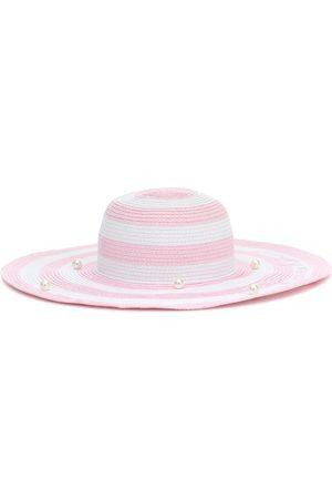 MONNALISA Embellished striped hat