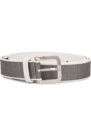 Gianfranco Ferré 1990 two-tone belt