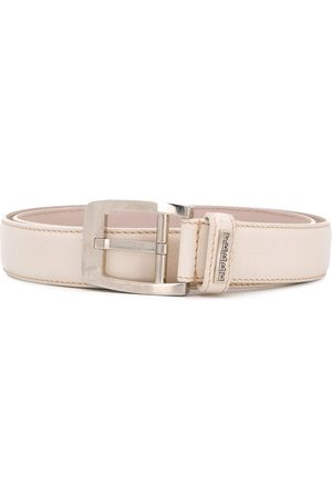 Gianfranco Ferré 1990 buckle leather belt