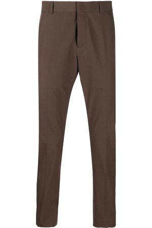 VALENTINO Contrast tape slim-fit trousers