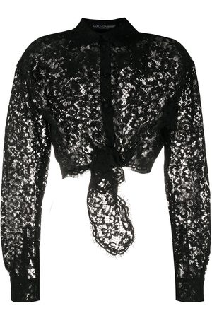 Dolce & Gabbana Sheer lace shirt