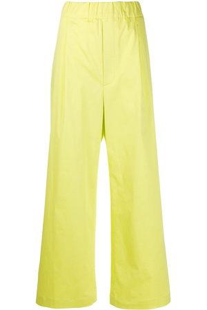 JEJIA Elasticated wide-leg trousers