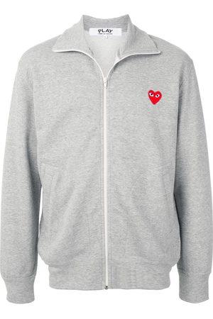 Comme des Garçons Rear logo print hoodie