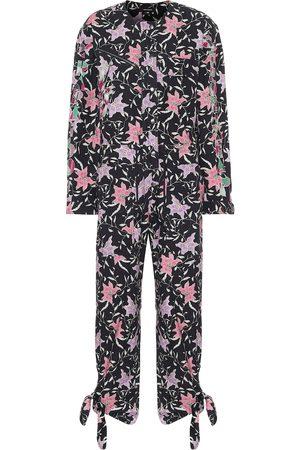 Isabel Marant Gigi printed cotton jumpsuit