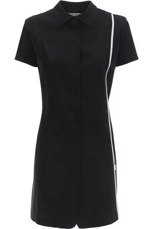 COPERNI Cool Wool Mini Shirt Dress