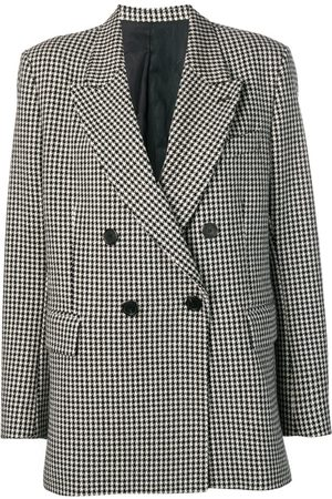 Ami Women Blazers - Lined Oversized Double-Breasted Jacket