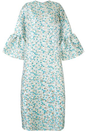 Bambah Women Printed Dresses - Zeynab scale print kaftan dress