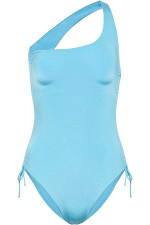 Melissa Odabash Exclusive to Mytheresa – Polynesia one-shouldered swimsuit