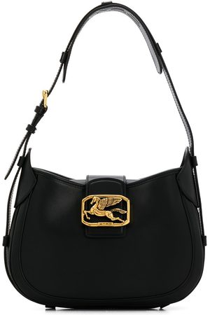 Etro Pegaso leather tote