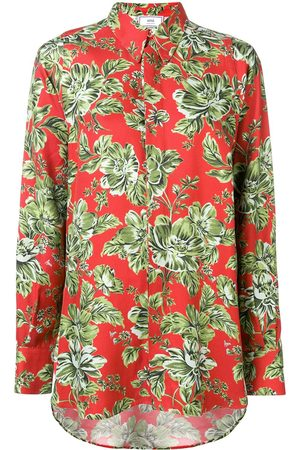 Ami Long Flower Printed Shirt