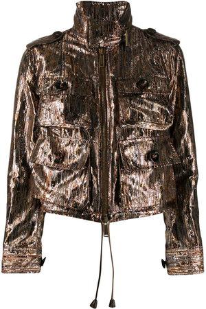 Dsquared2 Metallic lurex utility jacket