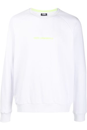 Karl Lagerfeld Logo long-sleeve sweatshirt