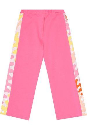 Emilio Pucci Cotton-jersey trackpants