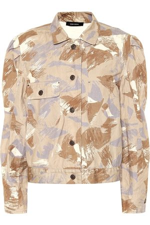 Isabel Marant Exclusive to Mytheresa – Itora cotton and linen jacket