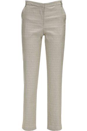 MARYAM NASSIR ZADEH Cape Cotton Blend Straight Pants