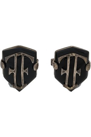 Gianfranco Ferré Pre-Owned 2000s shield cufflinks