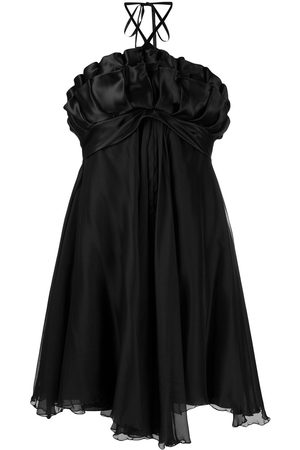 A.N.G.E.L.O. Vintage Cult 1990s ruffled halterneck dress