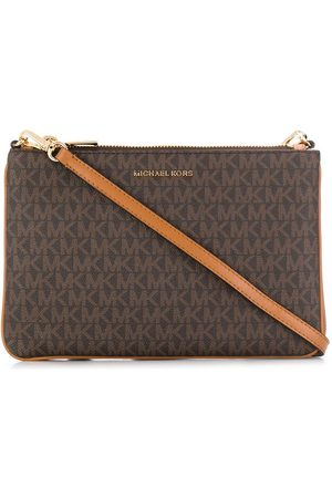 Michael Kors Monogram print crossbody bag