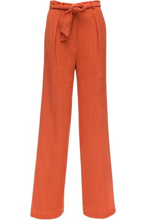 GABRIELA HEARST Lvr Sustainable Cotton Blend Crepe Pants