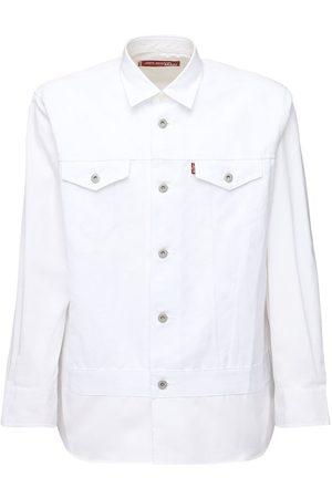 JUNYA WATANABE Levi's Broad Cotton & Linen Twill Shirt