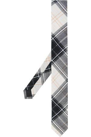 Gianfranco Ferré Men Neckties - 1990s check print tie