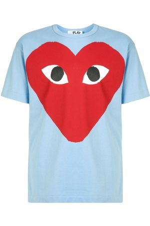 Comme des Garçons Heart print crewneck T-shirt