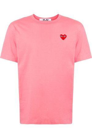 Comme des Garçons Embroidered heart regular fit T-shirt