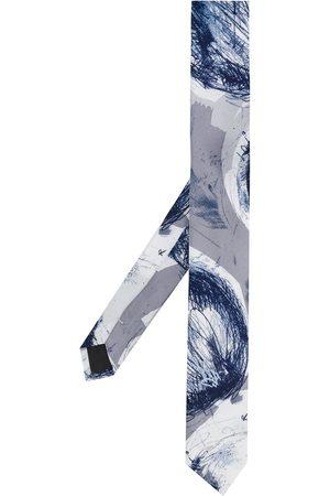 Gianfranco Ferré 1990s abstract print tie