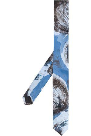 Gianfranco Ferré 1990 abstract print tie
