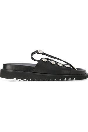 TOGA PULLA Studded drawstring sandals