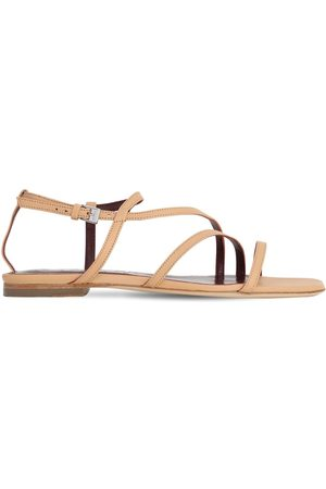 Staud 10mm Gitane Leather Sandals