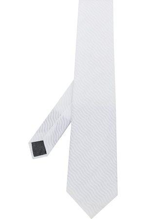 Gianfranco Ferré Men Neckties - 1990s wave texture tie