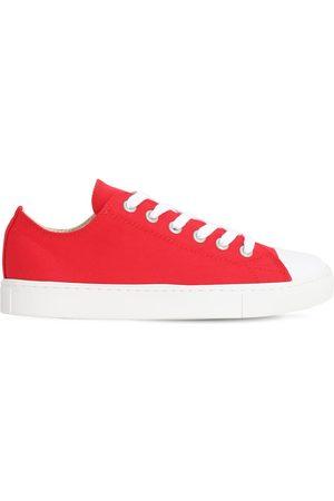 JUNYA WATANABE Men Sneakers - Low Top Cotton Canvas Sneakers