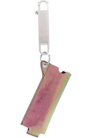 Rick Owens Iridescent pouch keyring