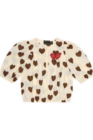 Mini Rodini Heart-print cotton top