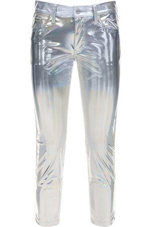 JUNYA WATANABE Metallic Coated Pants