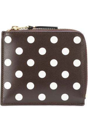 Comme des Garçons Wallets - Polka dot zipped wallet