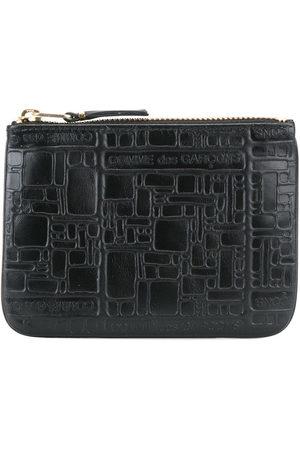 Comme Des Garçons Wallet Embossed zip purse
