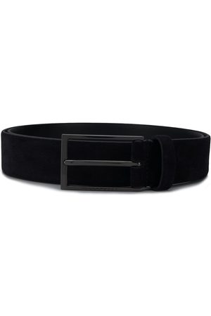 HUGO BOSS Logo emed buckle belt