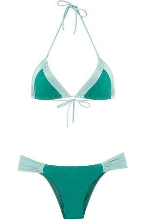 Brigitte Tatiana Melissa color block bikini set