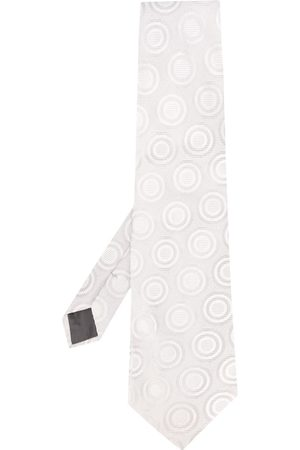 Gianfranco Ferré Men Neckties - 1990s circle print tie