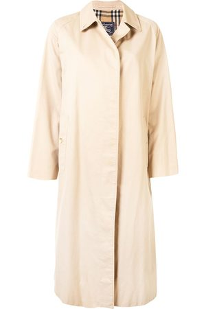 Burberry Women Trench Coats - 1990s single-breasted trench coat