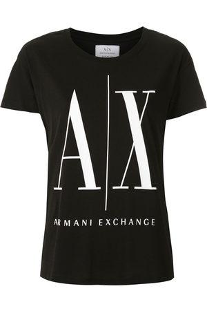 Armani Women Short Sleeve - Logo print T-shirt