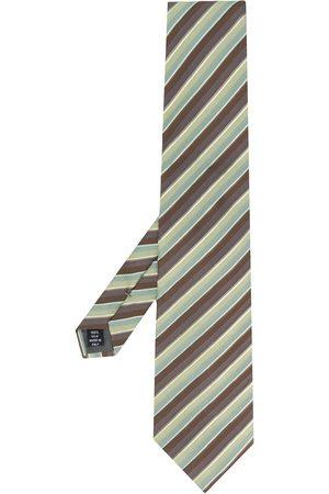 Gianfranco Ferré Men Neckties - 1990 diagonal stripe tie