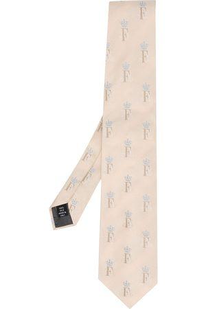 Gianfranco Ferré Men Neckties - 1990 monogram print tie