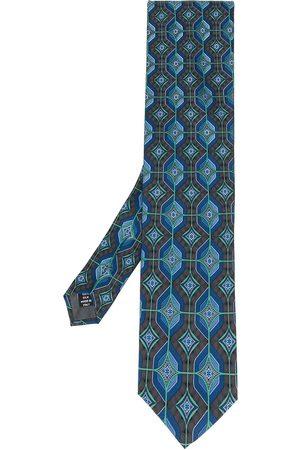Gianfranco Ferré Men Neckties - 1990 geometric print tie