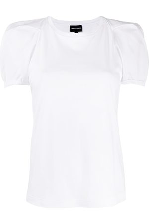 Armani Structured sleeve T-shirt