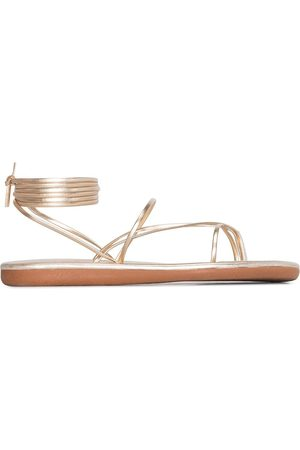 Ancient Greek Sandals String leather sandals